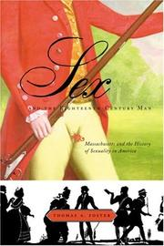 Cover of: Sex and the Eighteenth-Century Man