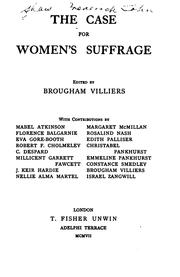 Cover of: The case for women