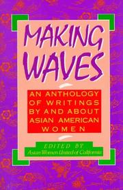 Cover of: Making waves | edited by Asian Women United of California.