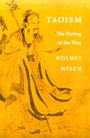 Cover of: Taoism | Holmes Welch