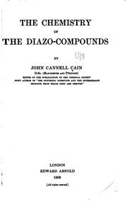 Cover of: The chemistry of the diazo-compounds
