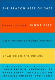 Cover of: Beacon Best of 2001 (Beacon Anthology) | Junot DГ­az