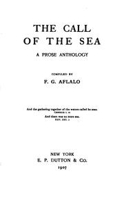 Cover of: The call of the sea