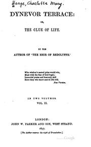 Cover of: Dynevor Terrace, or the Clue of Life
