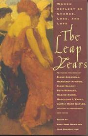 Cover of: The Leap Years