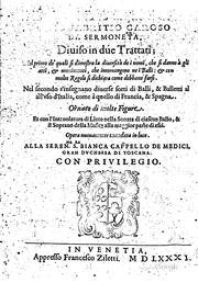Cover of: Il ballarino di M. Fabritio Caroso da Sermoneta, diuiso in due trattati