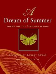 Cover of: A Dream of Summer | Robert Atwan
