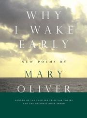 Cover of: Why I Wake Early