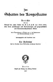 Cover of: Im Schatten des Kongostaates