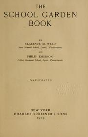 Cover of: The school garden book