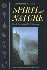 Cover of: Spirit and nature