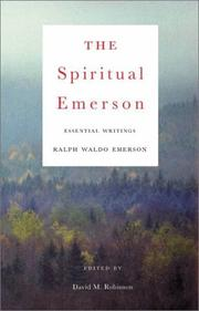 Cover of: The Spiritual Emerson