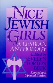 Cover of: Nice Jewish Girls | Evelyn T. Beck