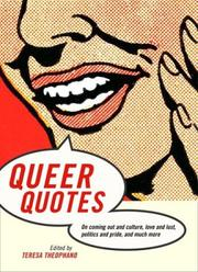Cover of: Queer quotes |
