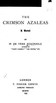 Cover of: The crimson azaleas
