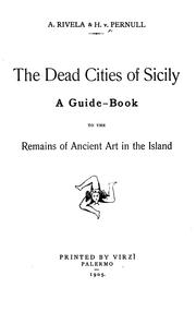 Cover of: dead cities of Sicily | H. v. Pernull