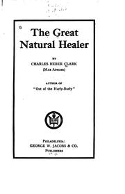 Cover of: The great natural healer