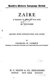 Cover of: Zaire