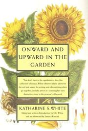 Cover of: Onward and Upward in the Garden