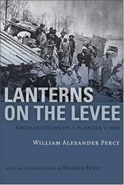 Cover of: Lanterns on the Levee | William Alexander Percy