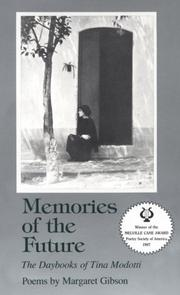 Cover of: Memories of the future