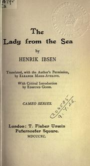 Cover of: The lady from the sea | Henrik Ibsen