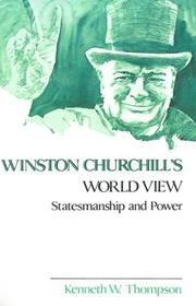 Cover of: Winston Churchill's World View