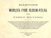 Martin's World's fair album-atlas and family souvenir by J. F. Martin