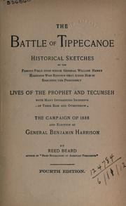 The Battle of Tippecanoe by Reed Beard