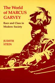 The world of Marcus Garvey by Judith Stein