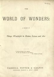 The World of wonders