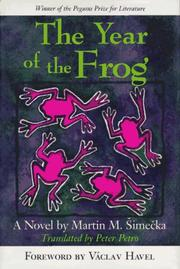 Cover of: The year of the frog