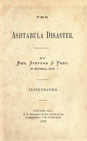 Cover of: The Ashtabula disaster