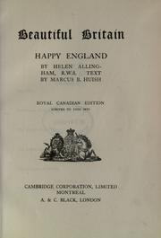 Cover of: Happy England