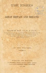 Cover of: The fishes of Great Britain and Ireland