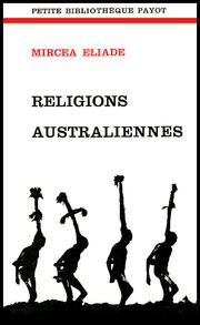 Cover of: Religions australiennes