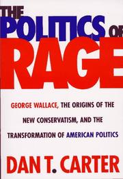 Cover of: The politics of rage
