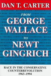 Cover of: From George Wallace to Newt Gingrich
