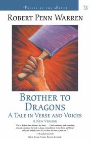 Cover of: Brother to dragons