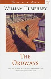 Cover of: The Ordways | William Humphrey