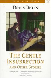 Cover of: The gentle insurrection and other stories