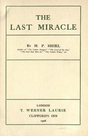 Cover of: The last miracle