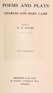 Cover of: The works of Charles and Mary Lamb