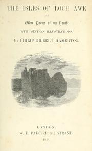 Cover of: The isles of Loch Awe