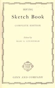 Cover of: Irving's sketch book