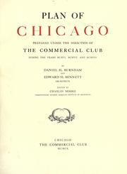 Cover of: Plan of Chicago by Burnham, Daniel Hudson