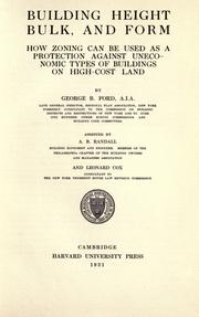 Building height, bulk, and form by George B. Ford