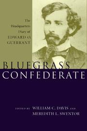 Cover of: Bluegrass Confederate |