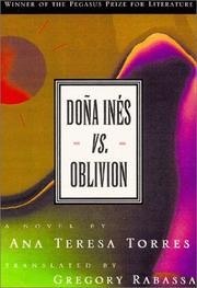 Cover of: Dona Ines vs. Oblivion
