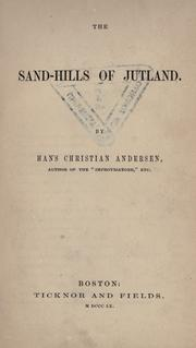 Cover of: The sand-hills of Jutland